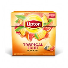 Чай Lipton Липтон Грейпфрут тропик черный 20 пирамидок