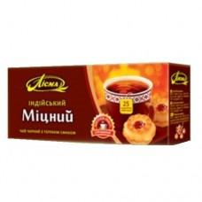 Чай Лисма черный Крепкий 25 пакетов