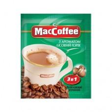 Кофе растворимый MacCoffee Маккофе Лесной орех 3в1 20 пакет