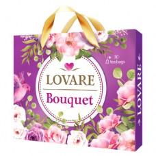 Чай LOVARE Подарочный портфель БУКЕТ 30 пакетов