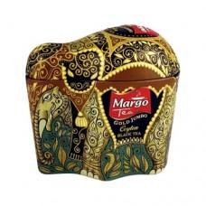 Чай черный Марго MARGO Golden Jumbo (Слон) PEKOE 100г жесть банка