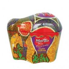 Чай зеленый Марго MARGO GREAT Jumbo (Слон) 100г жесть банка