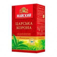 Чай Майский Царская корона черный 180г