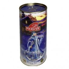 Чай черный Мервин Mervin New Year Снегурочка(ПЕКОЕ)150г банка
