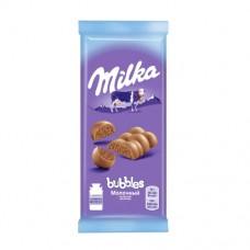 Шоколад Милка Баблз пористый  молочный 80г