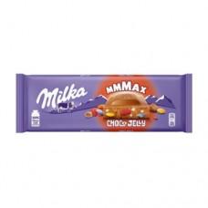 Шоколад Милка Choco Jelly Чоко желе 250г