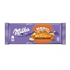Шоколад Милка Peanut Caramel Карамель с арахисом 276г