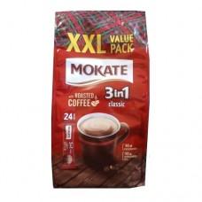 Кофейный напиток Mokate Мокате 3в1 Классик 24 стика по 17г