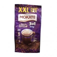 Кофейный напиток Mokate Мокате 3в1 Крепкий 24 стика по 17г