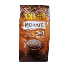 Кофейный напиток Mokate Мокате 2в1 с коричневым сахаром 24 стика по 17г