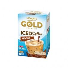 Кофейный напиток Mokate Мокате Gold ICED со вкусом шоколада 8 стиков по 15г