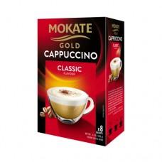 Кофейный напиток Mokate Мокате Gold Капучино Классик 8 стиков по 12,5г