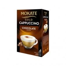 Кофейный напиток Mokate Мокате Gold Капучино со вкусом шоколада 8 стиков по 12,5г