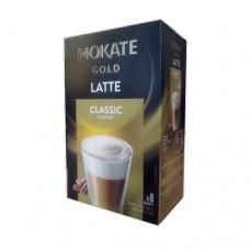 Кофейный напиток Mokate Мокате Gold Латте Классик 8 стиков по 12,5г