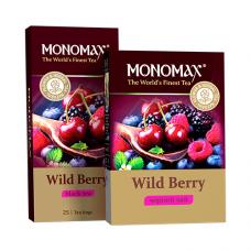 Чай Monomah Мономах Wild Berry 25 пакетов