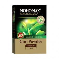Чай Monomah Мономах Gun Powder Зеленый жемчуг 100г