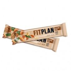 Шоколадный батончик мюсли FitPlan с орехом 25г