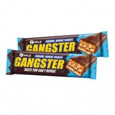 Шоколадный батончик GANGSTER - с арахисом, нугой и карамелью глазированный 50г
