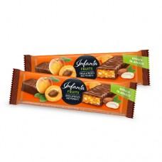 Шоколадный батончик Infanta с курагой и арахисом 40г
