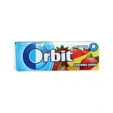 Жевательная резинка Orbit Орбит Клубника банан