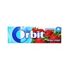 Жевательная резинка Orbit Орбит Лесная земляника