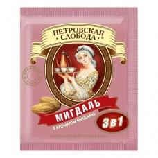 Кофе растворимый Петровская Слобода 3в1 миндаль 25 пакет
