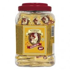 Кофе растворимый Петровская Слобода 3в1 карамель 50 пакет пластиковая банка
