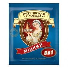 Кофе Петровская Слобода растворимый 3в1 крепкая 25 пакет