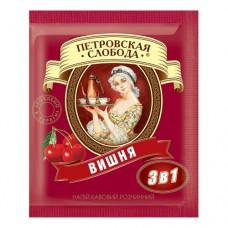 Кофе растворимый Петровская Слобода 3в1 вишня 25 пакет