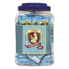 Кофе Петровская Слобода растворимый 3в1 сгущенка 50 пакет пластиковая банка