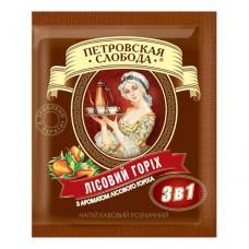 Кофе растворимый Петровская Слобода 3в1 орех 25 пакет