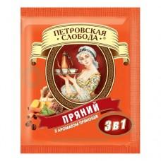 Кофе Петровская Слобода растворимый 3в1 пряный 25 пакет