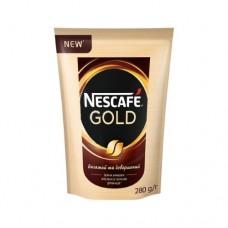 Кофе Nescafe Нескафе растворимый Голд 280г пакет