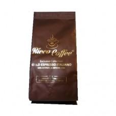 Кофе Ricco Рико Gold Espresso Italiano 75г зерно