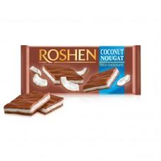 Шоколад Рошен молочный с кокосовой нугой 90г