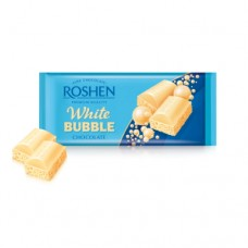 Шоколад Рошен белый пористый 80г