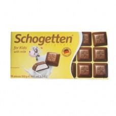 Шоколад Schogetten молочный Per Bambini for kids 100г