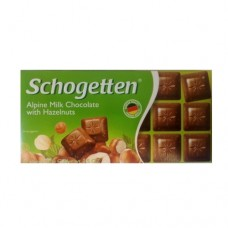 Шоколад Schogetten Alpine milk Hazelnut 100г