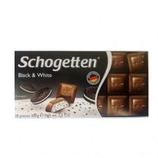 Шоколад Schogetten Black & White 100г
