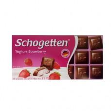 Шоколад Schogetten Yoghurt Strawberry 100г