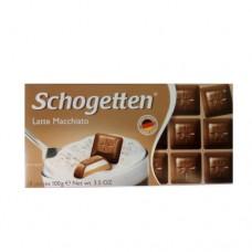 Шоколад Schogetten Лате 100г