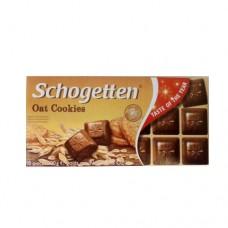 Шоколад Schogetten Овсянное печенье 100г