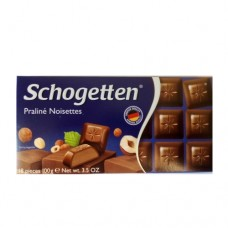 Шоколад Schogetten Praline Noisettes Нуга 100г