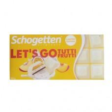Шоколад Schogetten Lets Go персик маракуя 100г