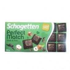 Шоколад Schogetten PM Dark Nuts 100г
