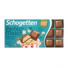 Шоколад Schogetten PM Popcorn Caramel 100г