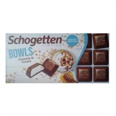 Шоколад Schogetten Granola&Cream 100г