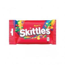 Жевательное драже Skittles Скитлс Фрукты 38г