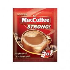 Кофе MacCoffee Маккофе растворимый Стронг 3в1 25 пакет