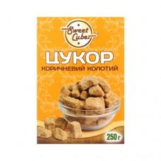 Сахар Sweet Cubes коричневый колотый 250г